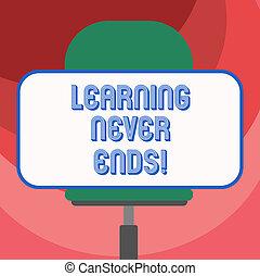 aprendizaje, texto, pegatina, él, señal, forma, tener,...
