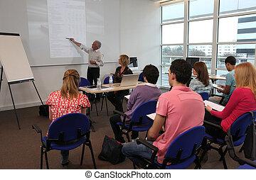 apresentação classe