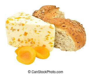 Apricot Flavoured White Stilton Che - Apricot flavoured...