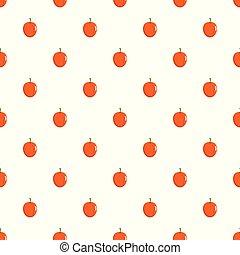 Apricot pattern seamless