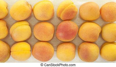 Apricots Background