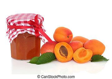 aprikos, marmelad