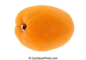 aprikose, freigestellt