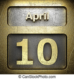 april 10 golden sign