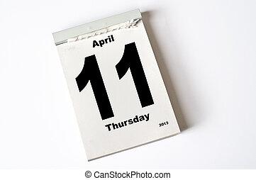 april, 11., 2013