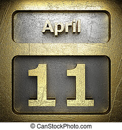 april 11 golden sign