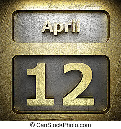 april 12 golden sign