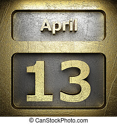 april 13 golden sign