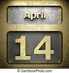 april 14 golden sign