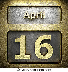 april 16 golden sign