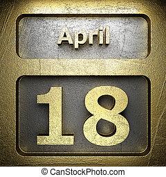 april 18 golden sign