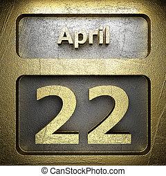 april 22 golden sign