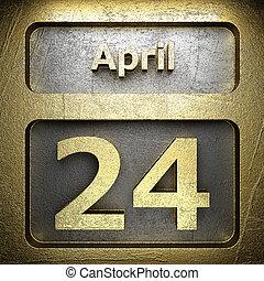 april 24 golden sign