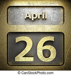 april 26 golden sign