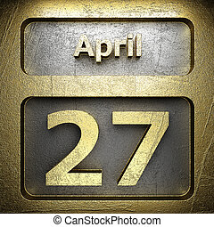 april 27 golden sign