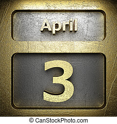 april 3 golden sign