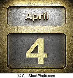 april 4 golden sign