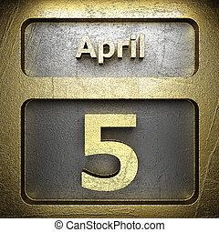 april 5 golden sign