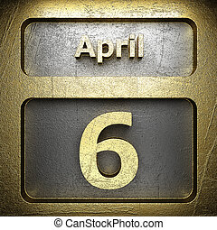 april 6 golden sign