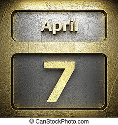 april 7 golden sign