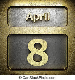 april 8 golden sign