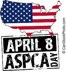 april 8 - USA