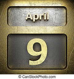 april 9 golden sign