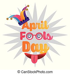 april fools day greeting card funny party