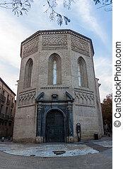 Santa Maria Magdalena church in Zaragoza