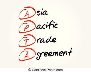 apta, -, porozumienie, azja, handel, pacyfik