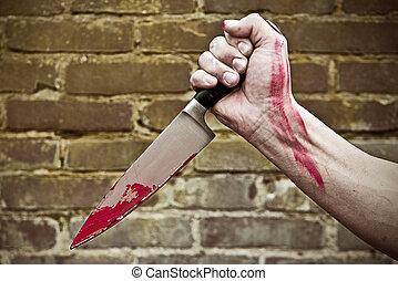 apunhalar, faca