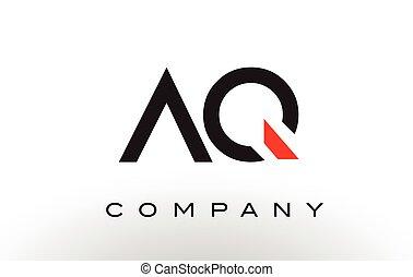 AQ Logo.  Letter Design Vector.