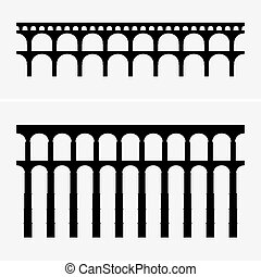 aquädukt, brücken, römisches