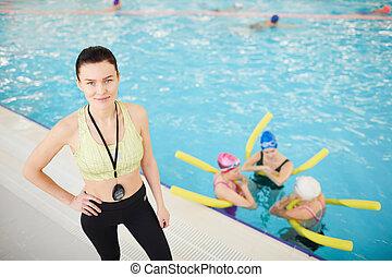 Aqua Aerobics Class