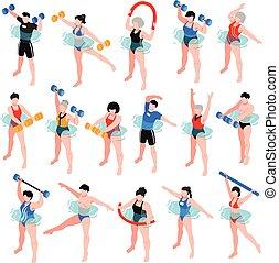 Aqua Aerobics Isometric Set