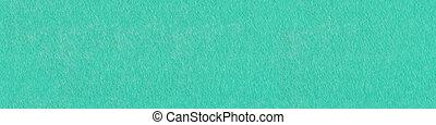 Aqua-blue color felt texture for design. Panoramic seamless texture for artwork.