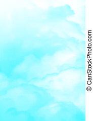 aqua blue Fog and clouds texture