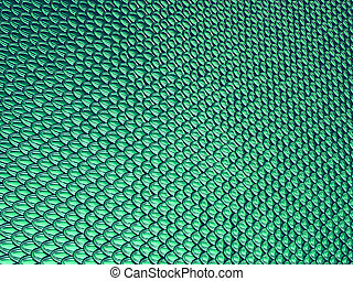 Aqua blue Scales glossy texture or background