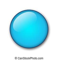 aqua plain button