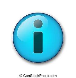 aqua web button information