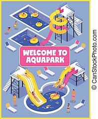 Aqua Park Poster