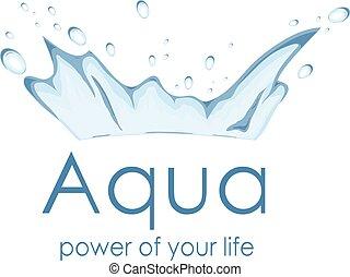 aqua power logo