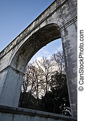 Aquaduct - old aquaduct in the citycenter of Lisbon