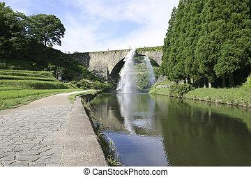 Aquaduct in Japan