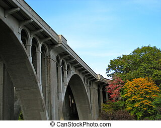 Aquaduct - Picture was taken during the fall along the...