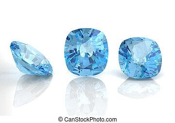 aquamarine (high resolution 3D image)