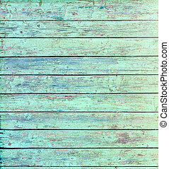 Aquamarine Wooden Wall Texture Background