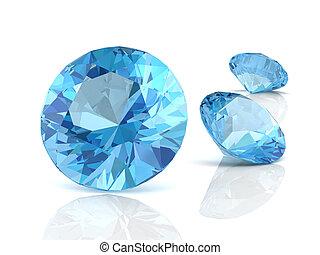 aquamarine(high resolution 3D image)