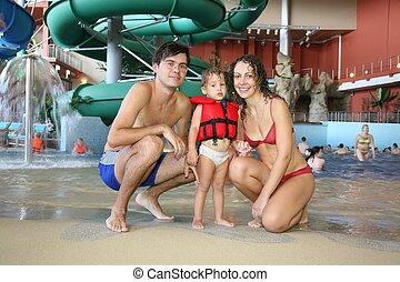 aquapark, família