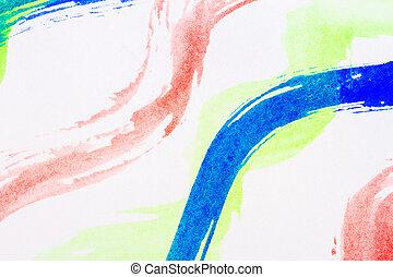 aquarela, arte abstrata, fundo